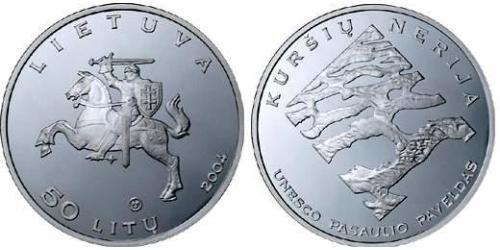 50 Litas Lithuania (1991 - )