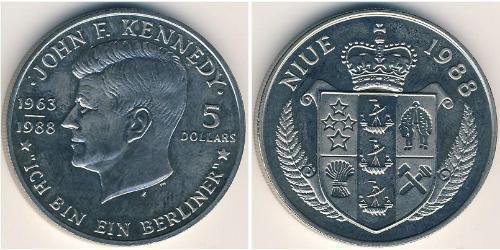 5 Доллар Ниуэ Никель/Медь