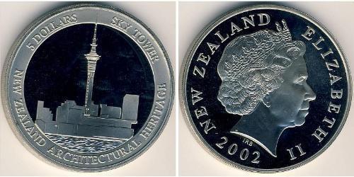 5 Доллар Новая Зеландия Никель/Медь