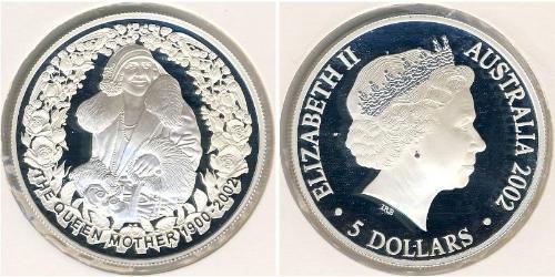 5 Доллар Австралия (1939 - ) Серебро