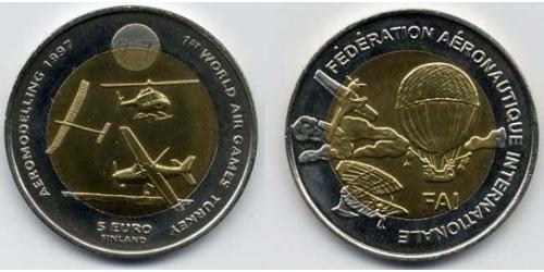 5 Евро Финляндия (1917 - ) Биметалл