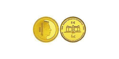 5 Евро Люксембург Золото