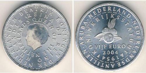 5 Евро Королевство Нидерланды (1815 - ) Серебро