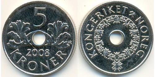 5 Крона Норвегия Никель/Медь