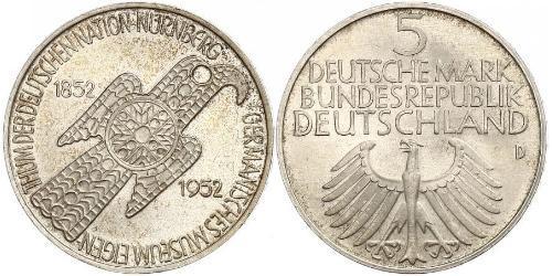 5 Марка ФРГ (1949-1990)