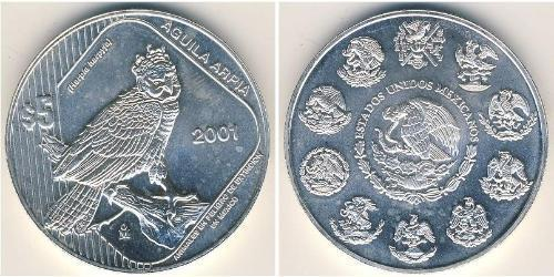 5 Песо Соединённые Штаты Мексики (1867 - ) Серебро