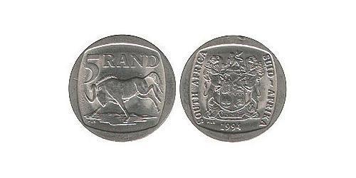 5 Ранд Южно-Африканская Республика Никель/Медь