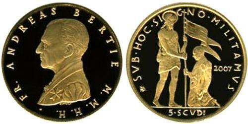 5 Скудо Мальтийский орден (1080 - ) Золото