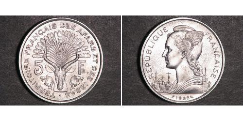 5 Франк Французская Западная Африка (1895-1958) Серебро