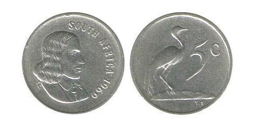 5 Цент Южно-Африканская Республика Никель