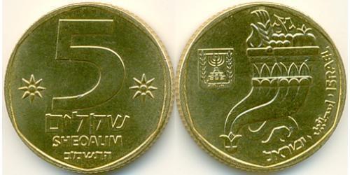 5 Шекель Израиль (1948 - ) Алюминий/Бронза