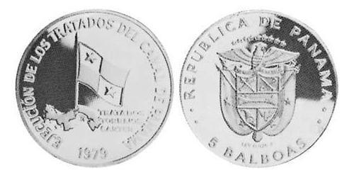 5 Balboa Republic of Panama Silver