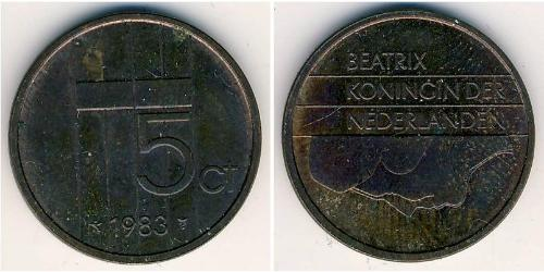 5 Cent Kingdom of the Netherlands Bronze