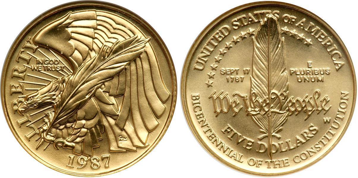 Продам монету liberty quarter dollar 1987г