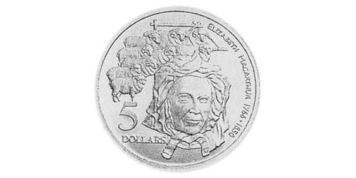 5 Dollar Australia (1939 - ) Silver
