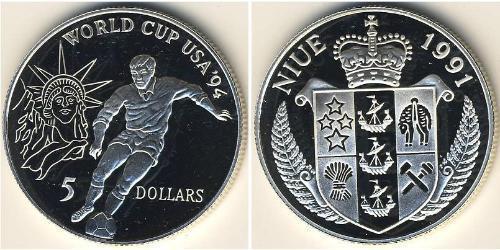 5 Dollar Niue Silver
