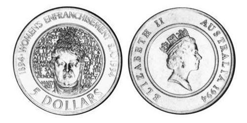 5 Dollar Australia (1939 - ) Steel