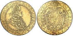 5 Ducat Habsburg Empire (1526-1804) Gold Leopold I, Holy Roman Emperor (1640-1705)