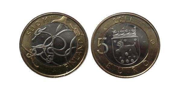 5 Euro Finland (1917 - ) Bimetal