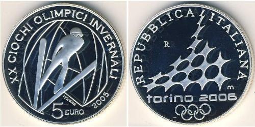 5 Euro Italy Silver