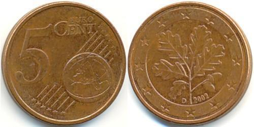 5 Eurocent Germany Steel/Copper