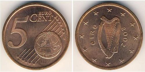 5 Eurocent Ireland (1922 - ) Steel/Copper