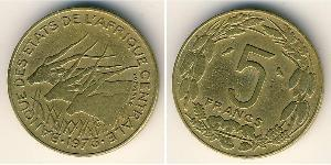 5 Franc Central African Republic