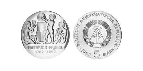 5 Mark German Democratic Republic (1949-1990) Copper/Nickel