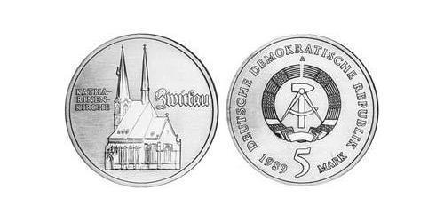 5 Mark German Democratic Republic (1949-1990) Copper/Zinc/Nickel