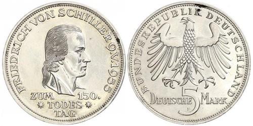 5 Mark 西德 (1949 - 1990)