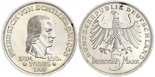 5 Mark West Germany (1949-1990)