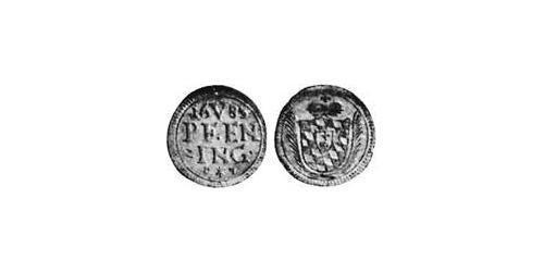 5 Pfennig Electorate of Bavaria (1623 - 1806) Silver