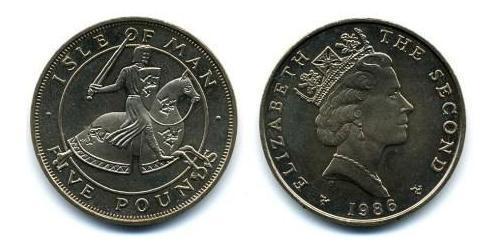 5 Pound Isle of Man