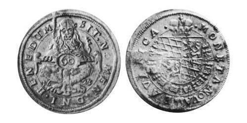 60 Kreuzer Duchy of Bavaria (907 - 1623) Silver Maximilian I, Elector of Bavaria (1573 – 1651)