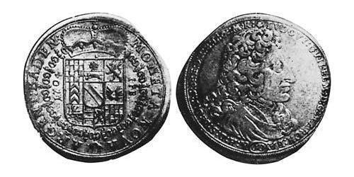 60 Kreuzer Margraviate of Baden (1112 - 1803) Silver