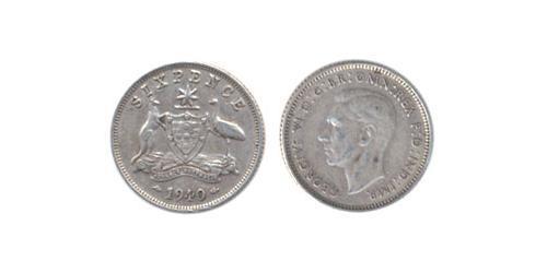 6 Пені Австралія (1939 - )