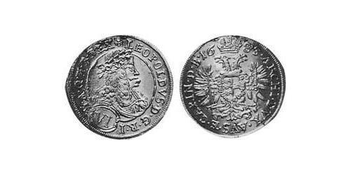6 Kreuzer Holy Roman Empire (962-1806) Silver