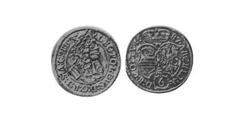6 Kreuzer Holy Roman Empire (962-1806) Silver
