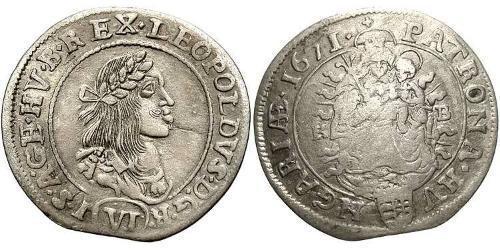 6 Kreuzer Hungary (1989 - ) Silver
