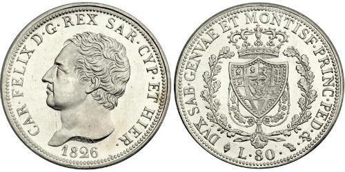 80 Lira Italy Platinum