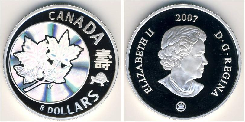 2 доллара 2007 года (канада)