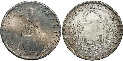 8 Реал Филиппины Серебро