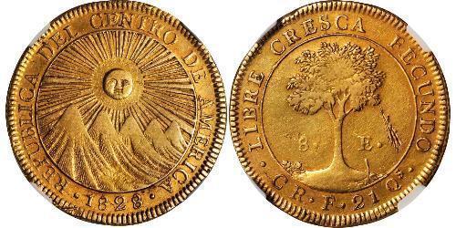 8 Эскудо Коста-Рика Золото