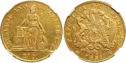 8 Escudo Chile Gold