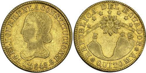 8 Escudo Ecuador Gold