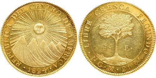 8 Escudo Guatemala Gold