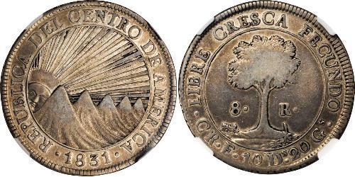 8 Real Costa Rica Plata