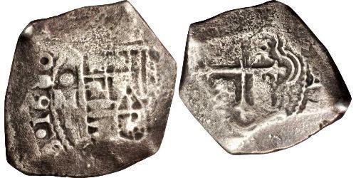 8 Real México Plata Carlos II de España (1661-1700)