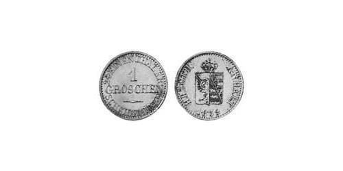 93 Groschen Anhalt-Bernburg (1603 - 1863) Silver