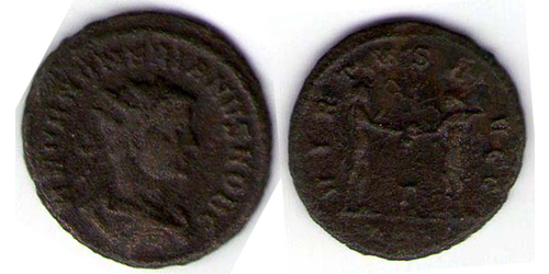 Антониниан Римская империя (27BC-395) Бронза